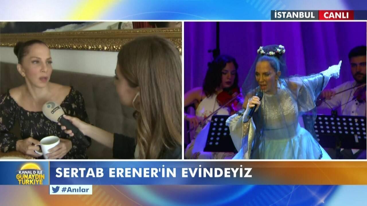 Sertab Erener evinin kapılarını açtı!