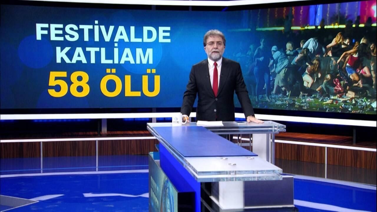 Ahmet Hakan'la Kanal D Haber - 02.10.2017
