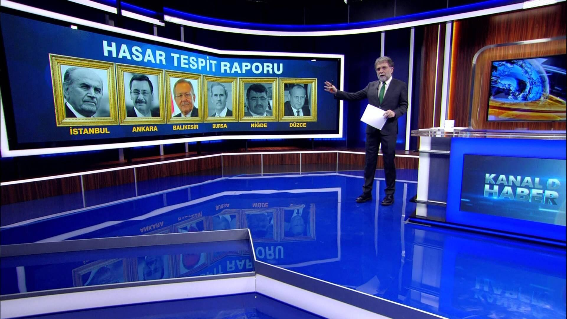 Ahmet Hakan'la Kanal D Haber - 24.10.2017