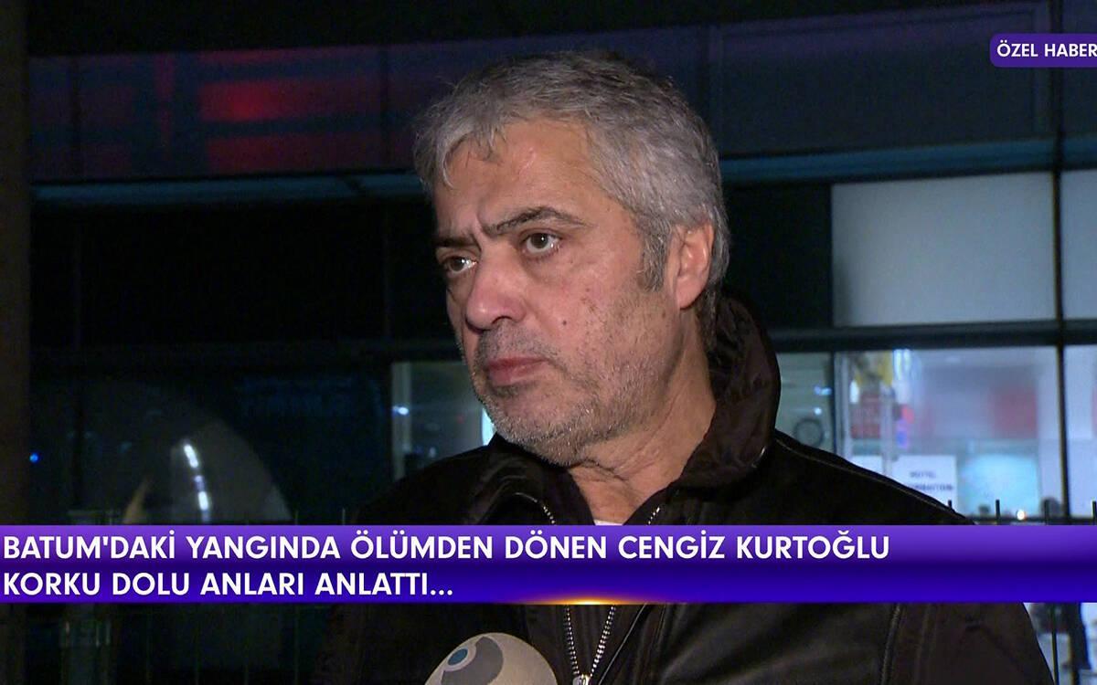 Cengiz Kurtoğlu ölümden döndü!