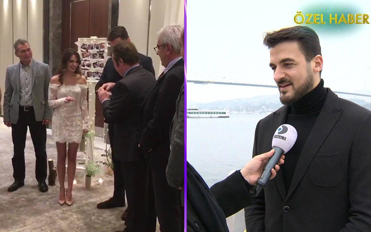 Gurur Aydoğan'ın nişan töreninden ilk görüntüler!