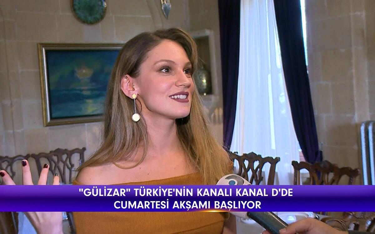 Gülizar'ın setinden ilk görüntüler!