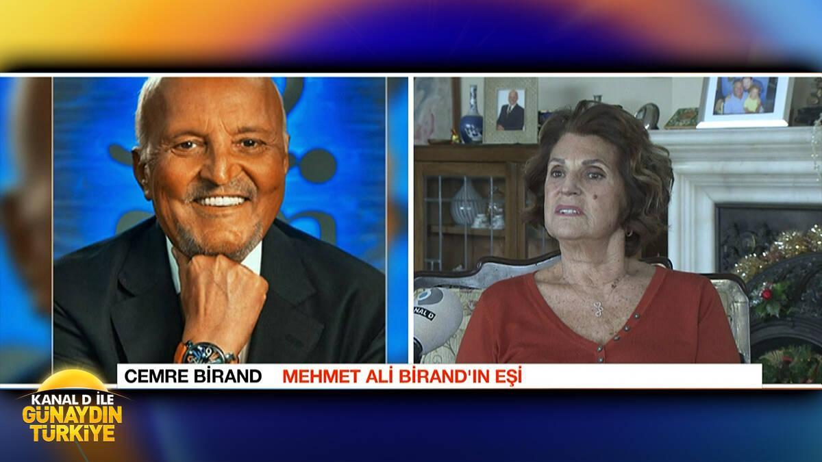 Cemre Birand, Mehmet Ali Birand'ı anlattı!