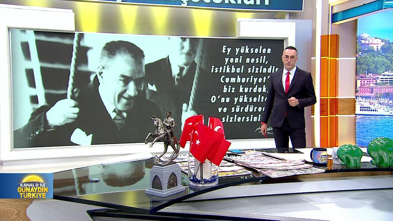 Kanal D ile Günaydın Türkiye - 23.04.2018