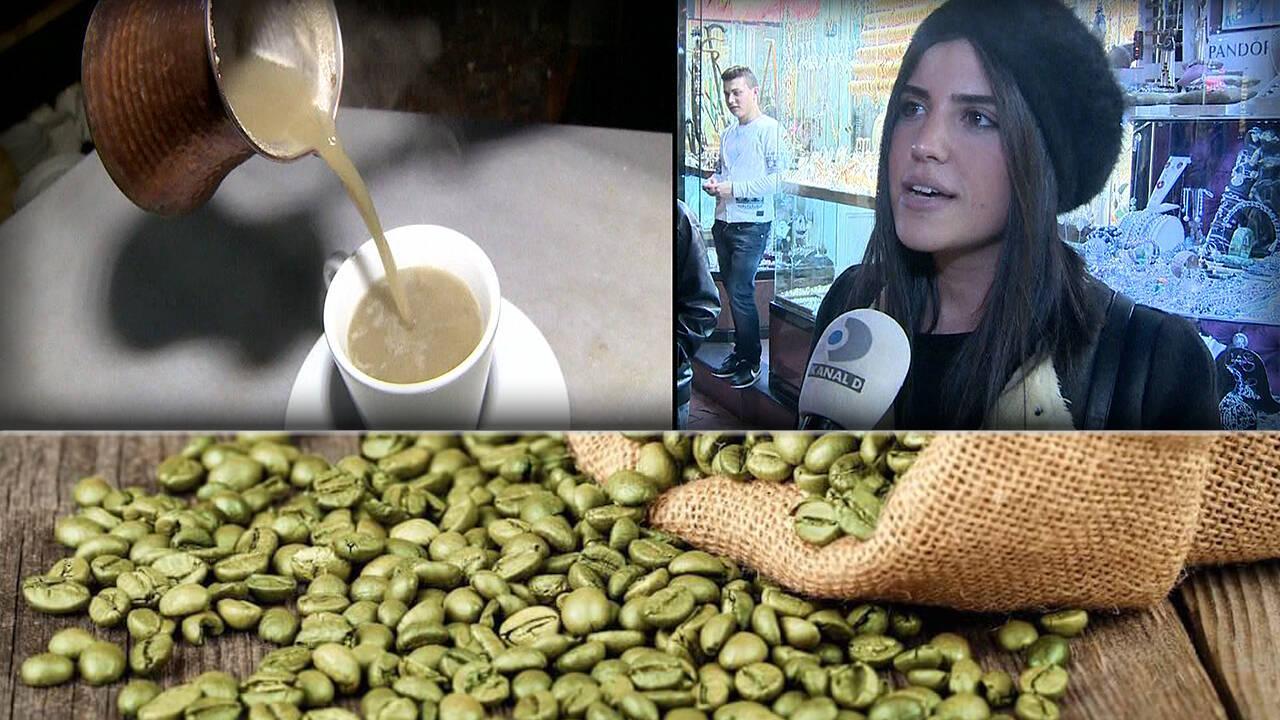 Yeşil kahve zayıflatıyor mu?