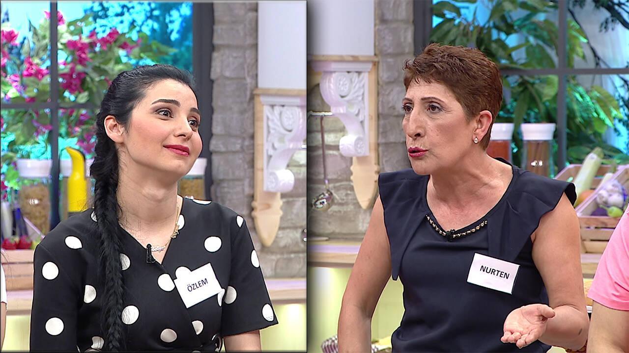 Nurten Hanım ve gelini Özlem arasında ilk günde tartışma çıktı!