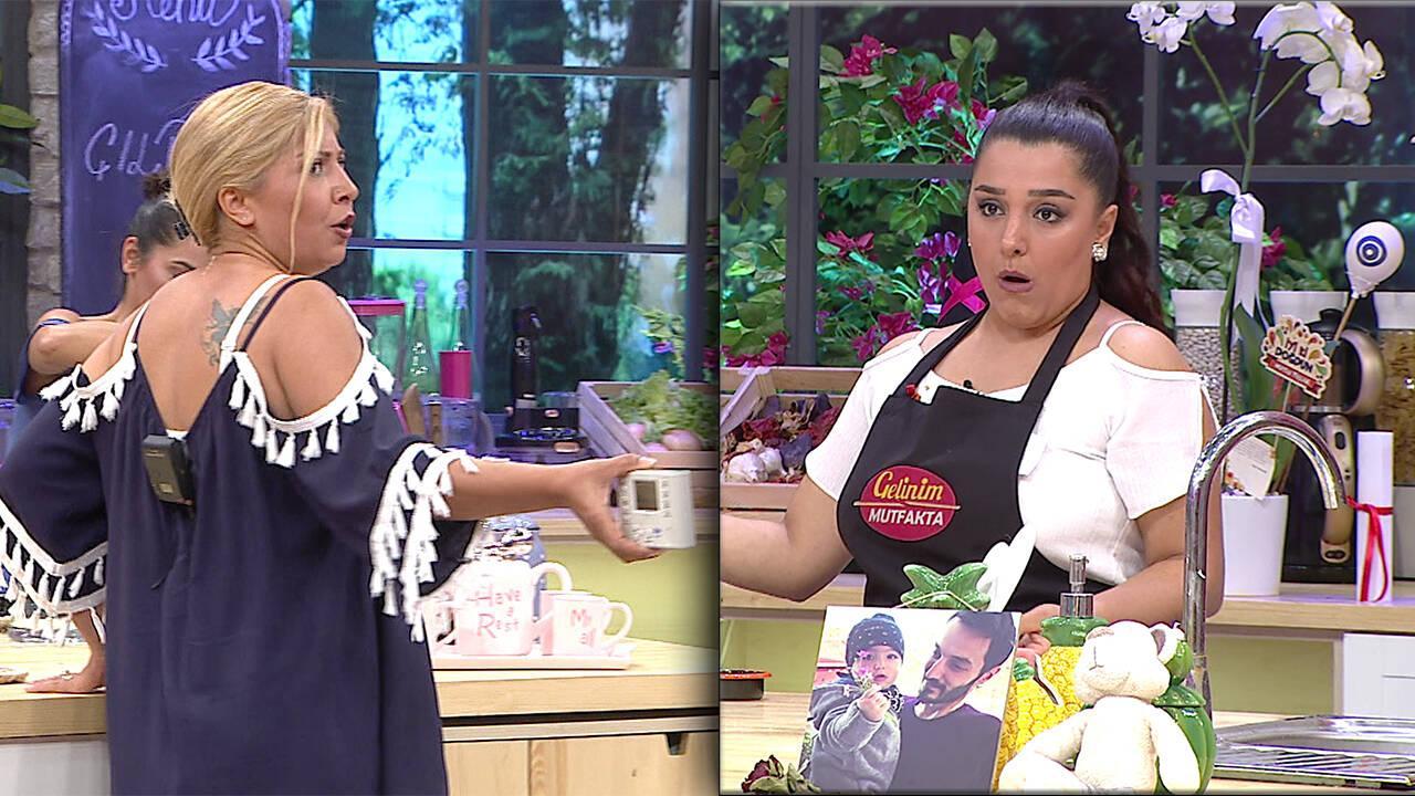 Bilge Hanım mutfağı bastı!