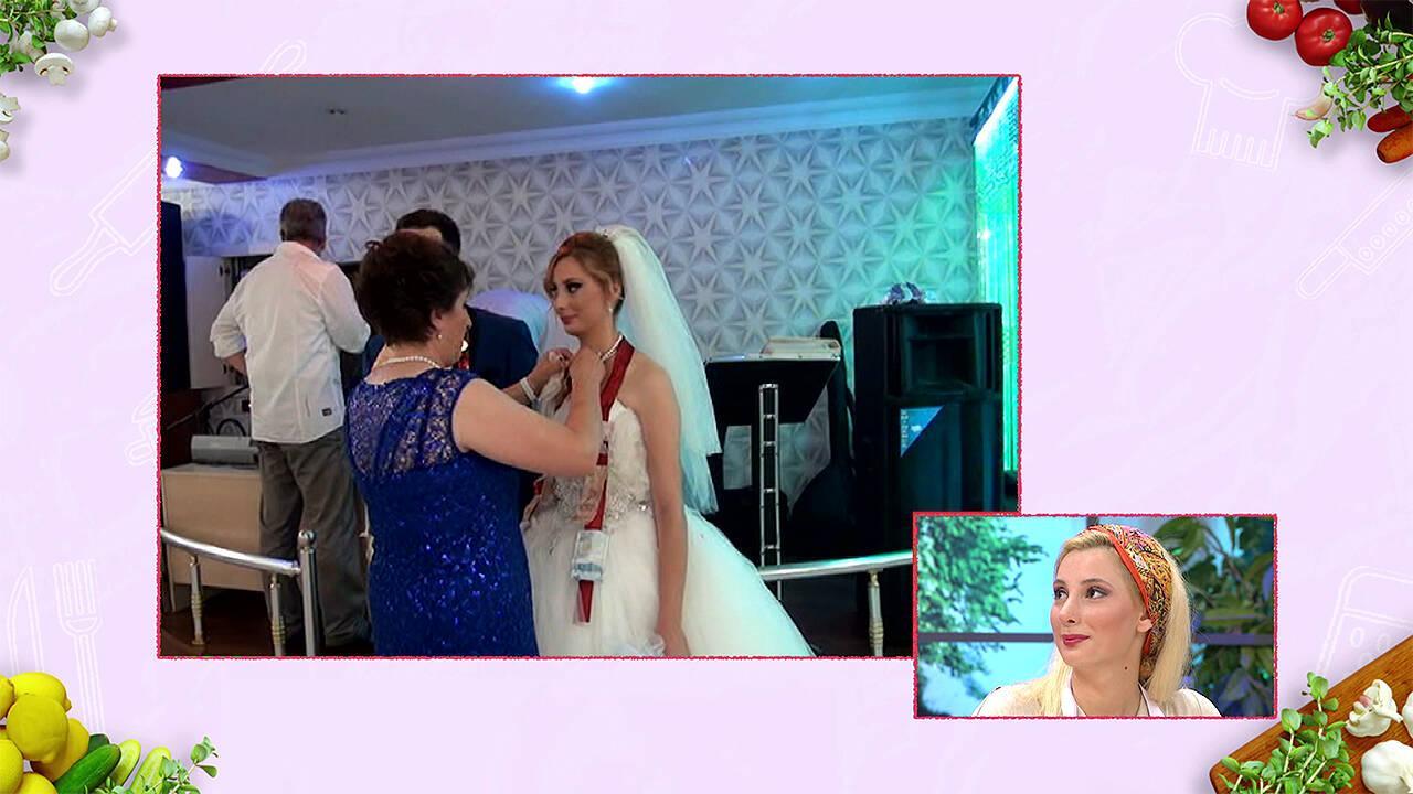 Başak'ın düğününden sürpriz görüntüler!