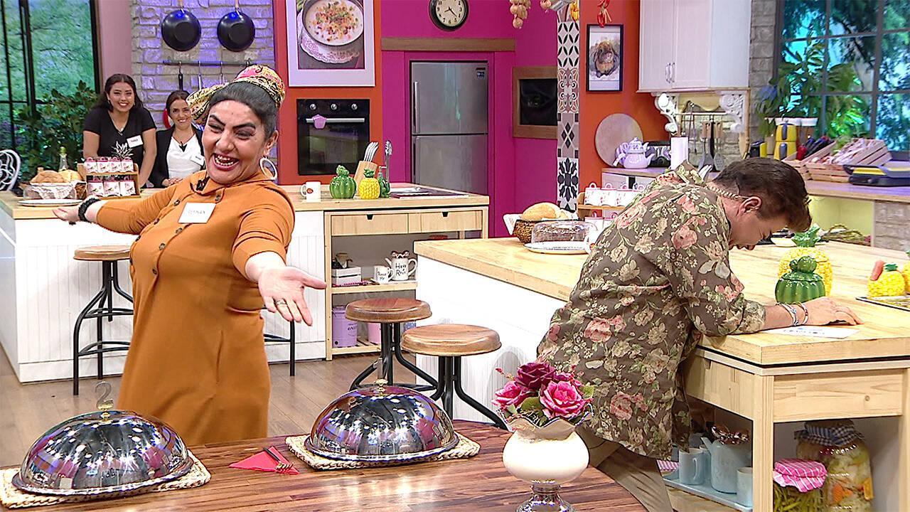 Reyhan Hanımdan kahkaha tufanı!