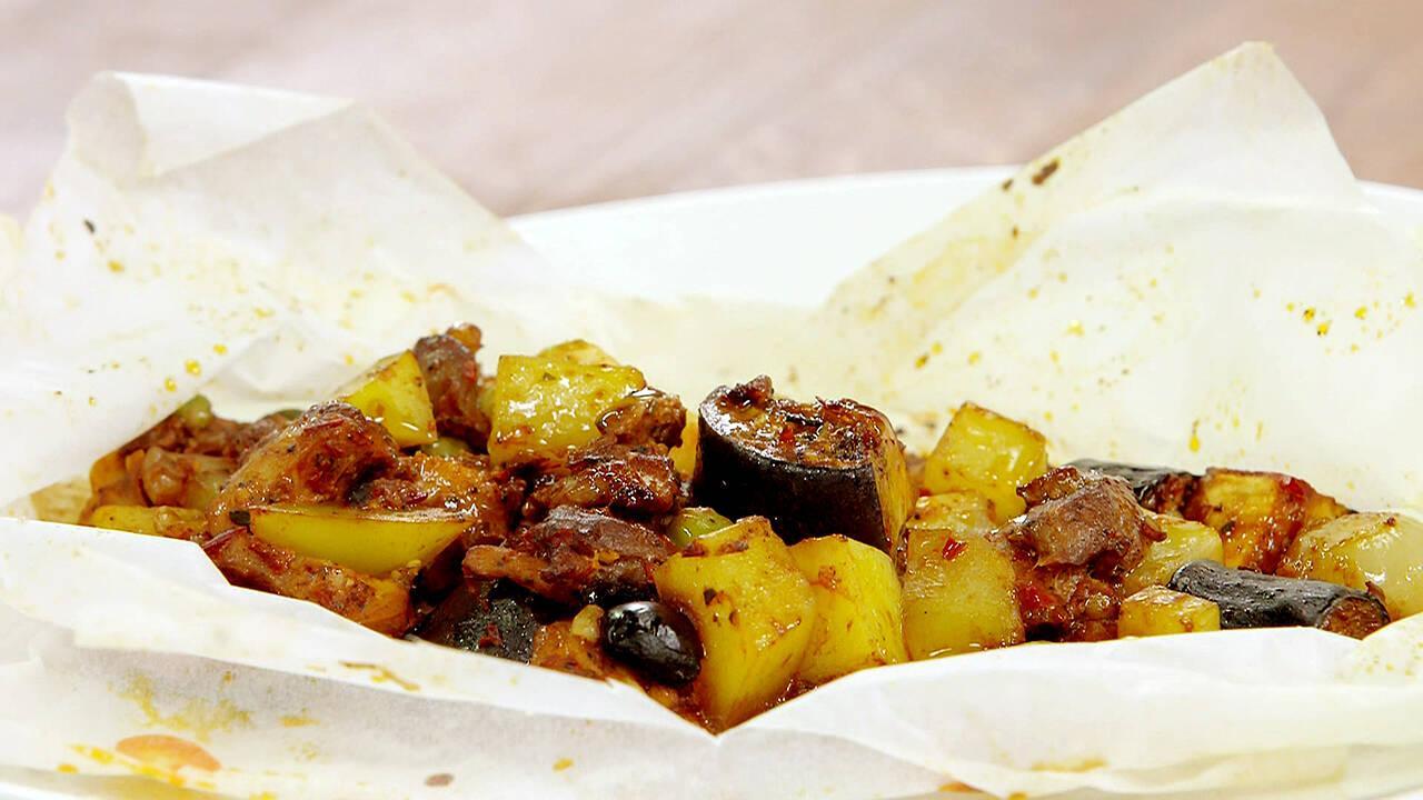Arda'nın Mutfağı - Tavuklu Kağıt Kebabı Tarifi