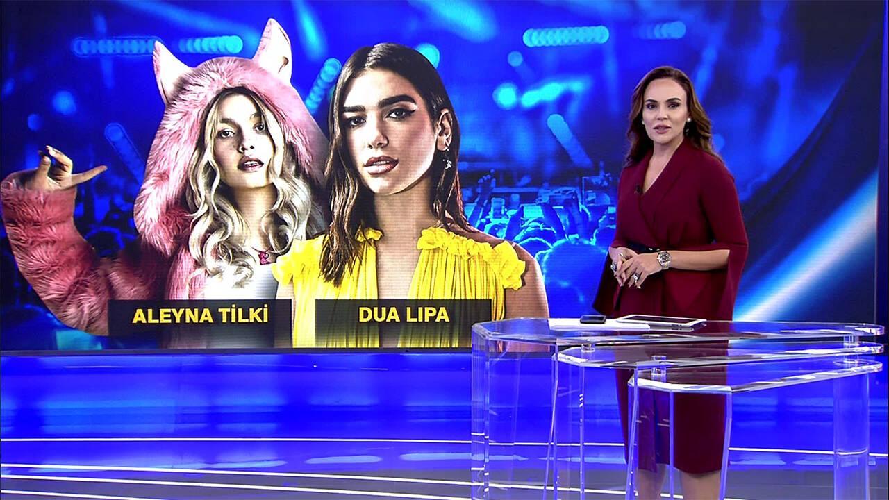 Dua Lipa, Aleyna Tilki'den mi esinlendi?