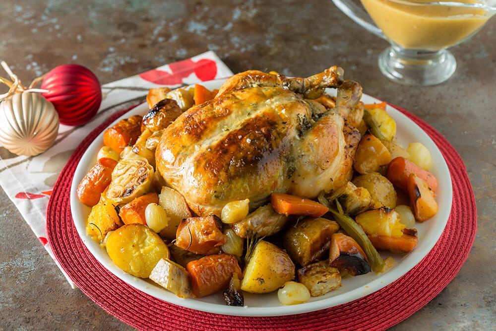 Arda'nın Mutfağı - Fırında Portakallı Ayvalı Tavuk