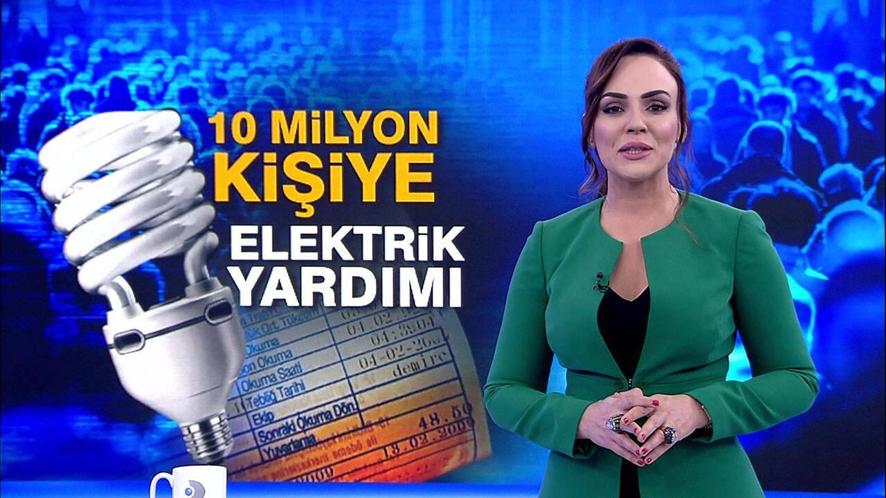 10 milyon kişiye elektrik yardımı!