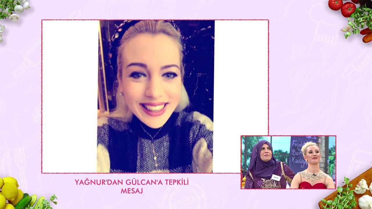 Yağnur'dan Gülcan'a tepkili mesaj!