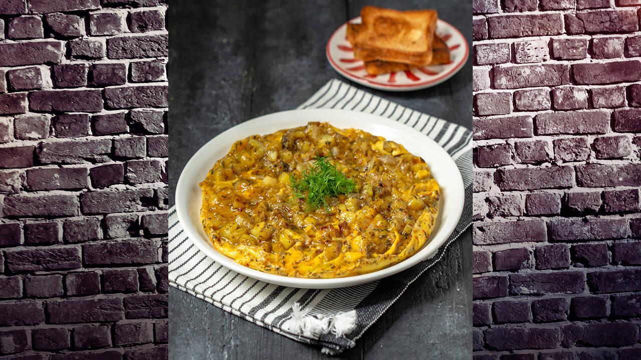 Arda'nın Mutfağı - Patatesli Soğanlı Omlet