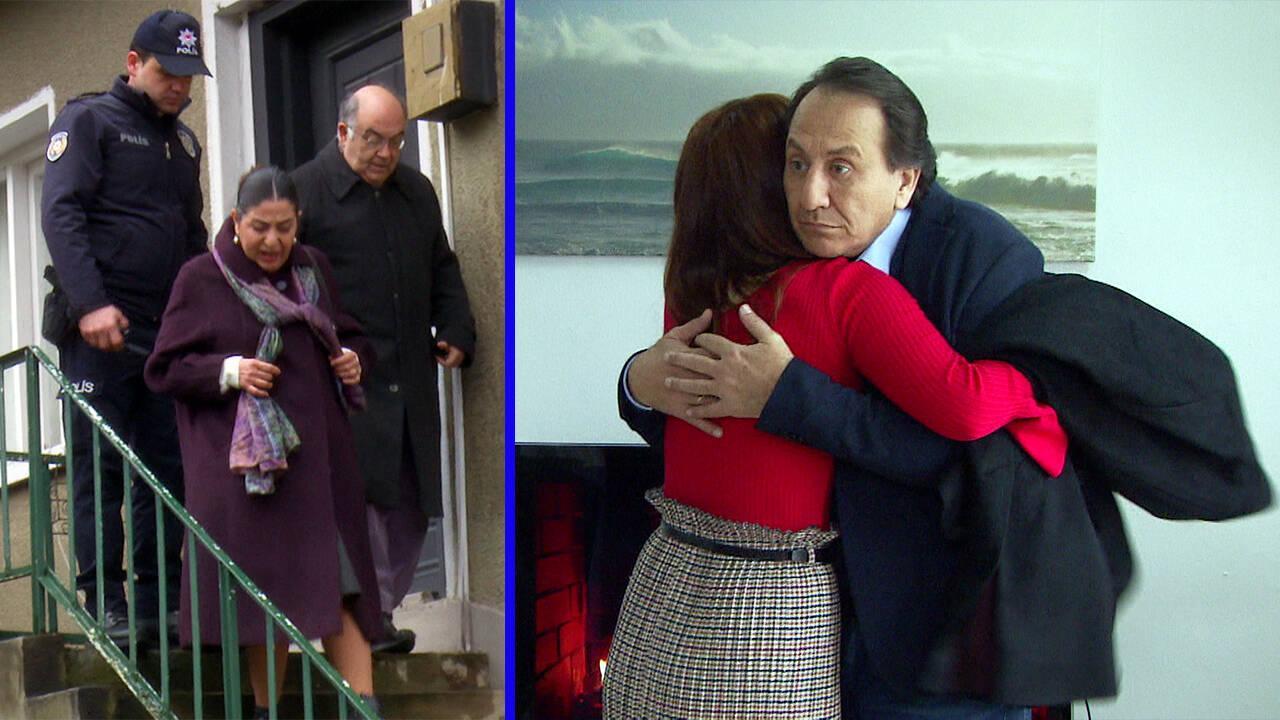 Hüsnü, Meryem'in ailesini gözaltına aldırıyor!