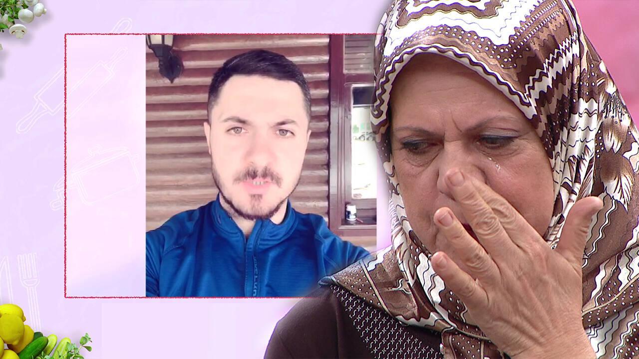 Oğlunun mesajındaki ayrıntılar Aynur Hanımı ağlattı!