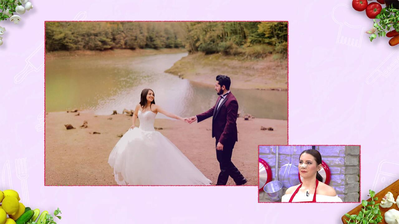 Meltem'in düğününden sürpriz görüntüler!
