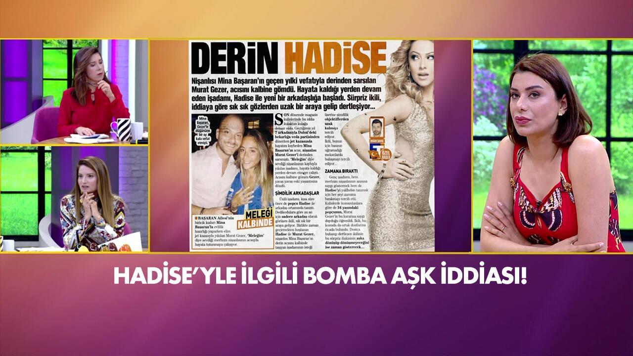 Hadise'yle ilgili bomba aşk iddiası!