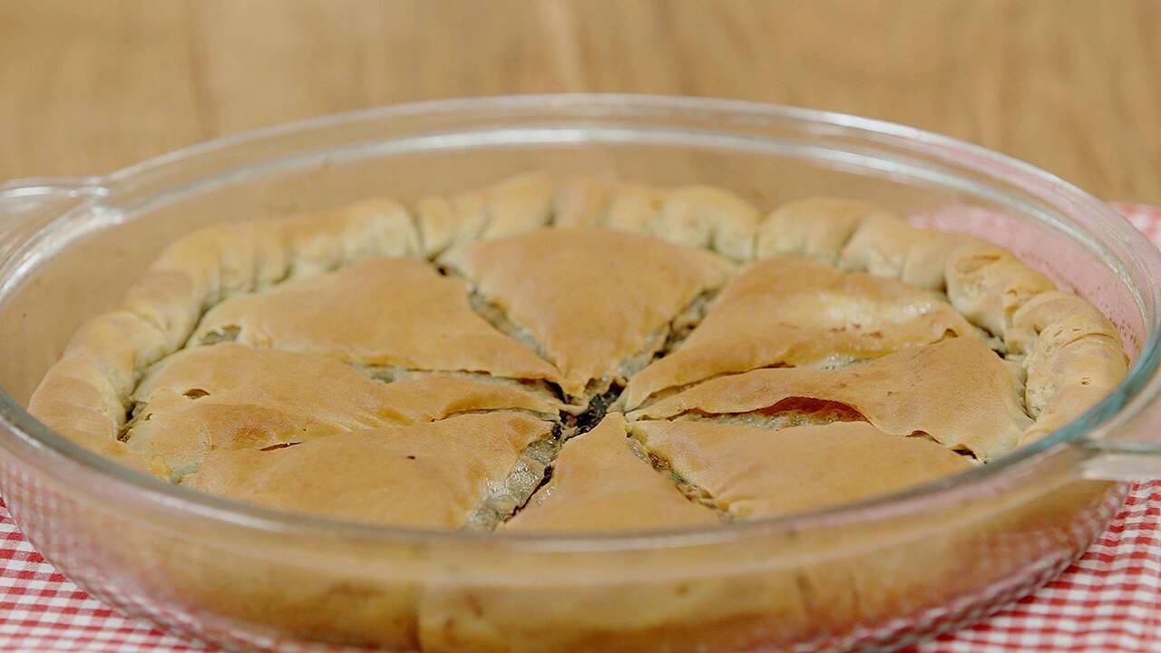 Arda'nın Ramazan Mutfağı - Ispanaklı Mantarlı Göbete