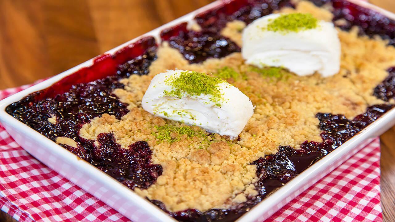 Arda'nın Ramazan Mutfağı - Vişneli Crumble