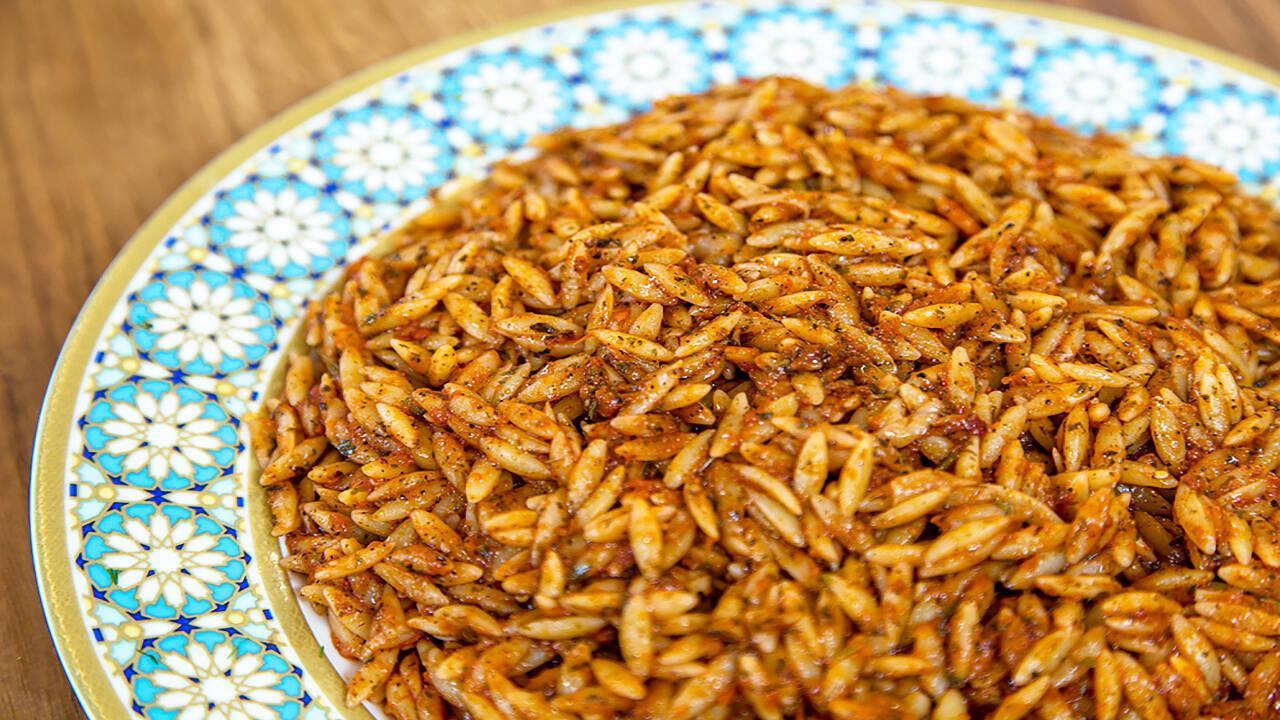 Arda'nın Ramazan Mutfağı - Domatesli Arpa Şehriye Pilavı