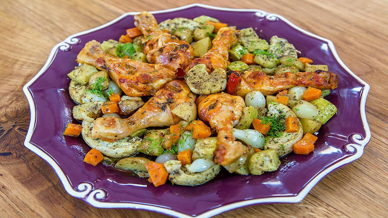 Arda'nın Ramazan Mutfağı - Fırında Tavuk Baget