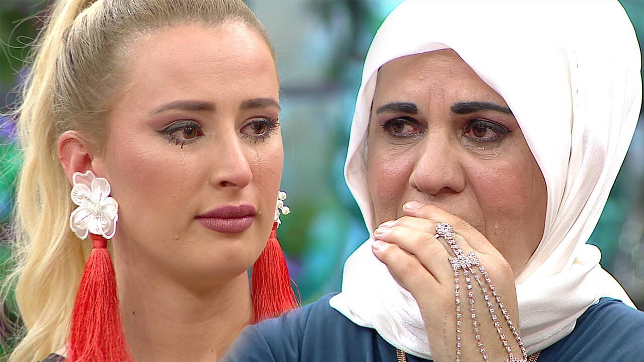 Besime Hanım ve Gülcan gözyaşlarına boğuldu!