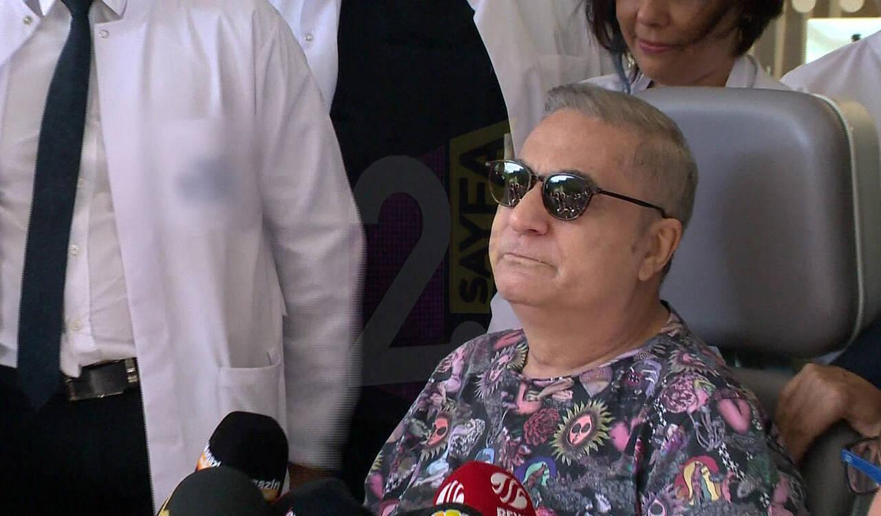 Mehmet Ali Erbil 8 ay sonra taburcu oldu, gözyaşlarını tutamadı!