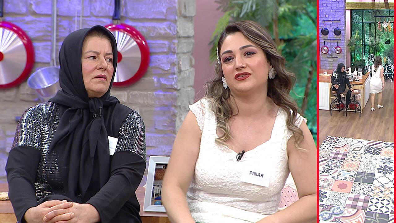 Pınar stüdyoyu terk etti!