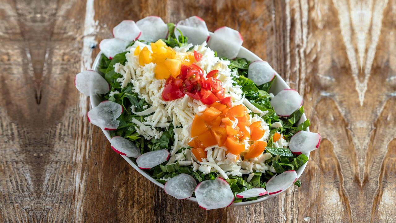 Arda'nın Mutfağı - Rokalı Ispanak Salatası