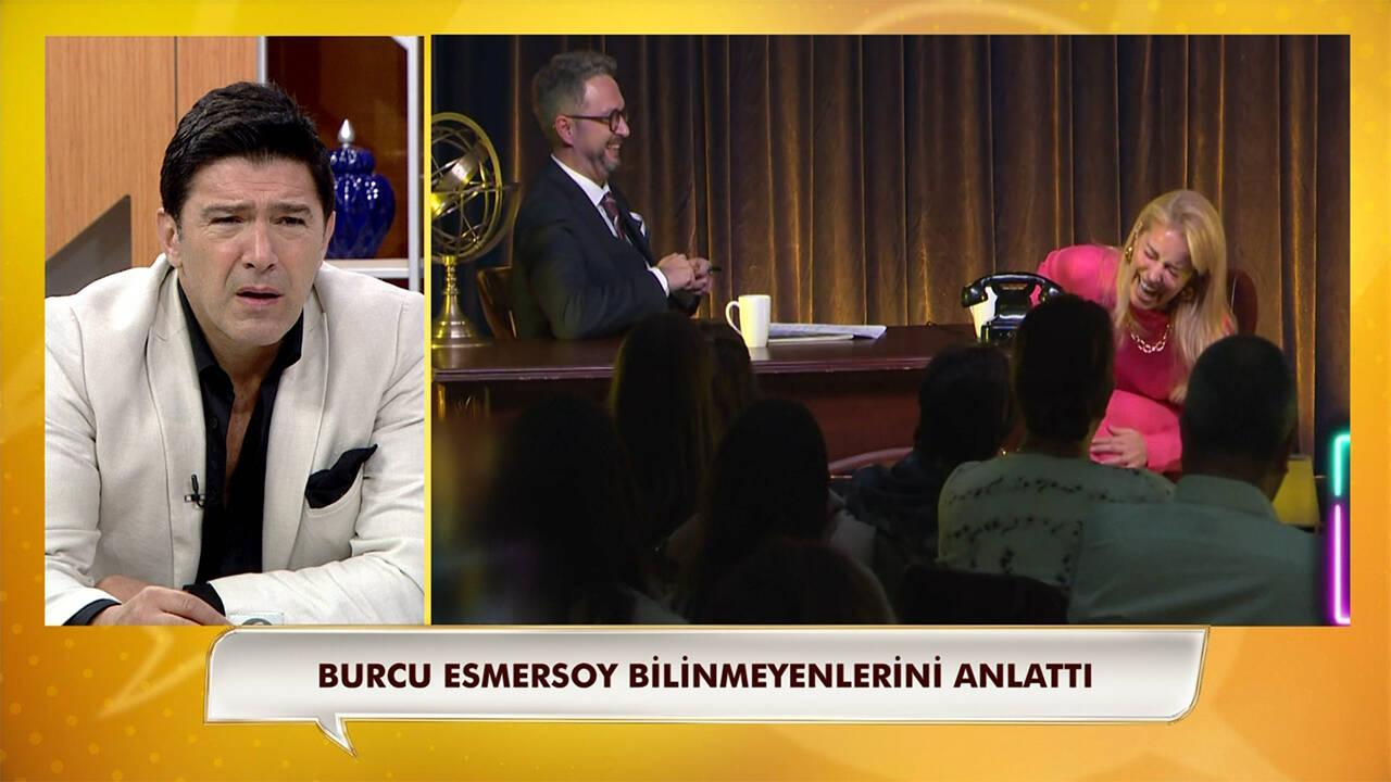 Burcu Esmersoy neden telefon kırdığını ilk kez anlattı!
