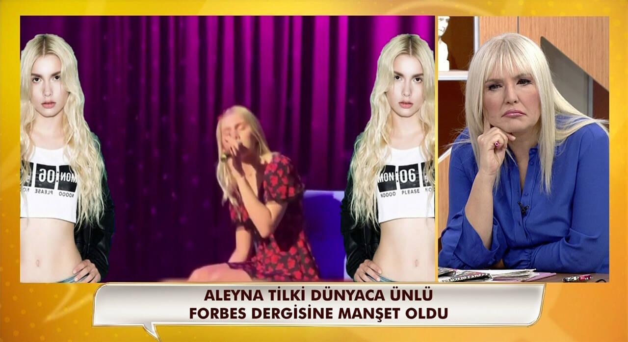 Aleyna Tilki, dünyaca ünlü dergiye neden manşet oldu?