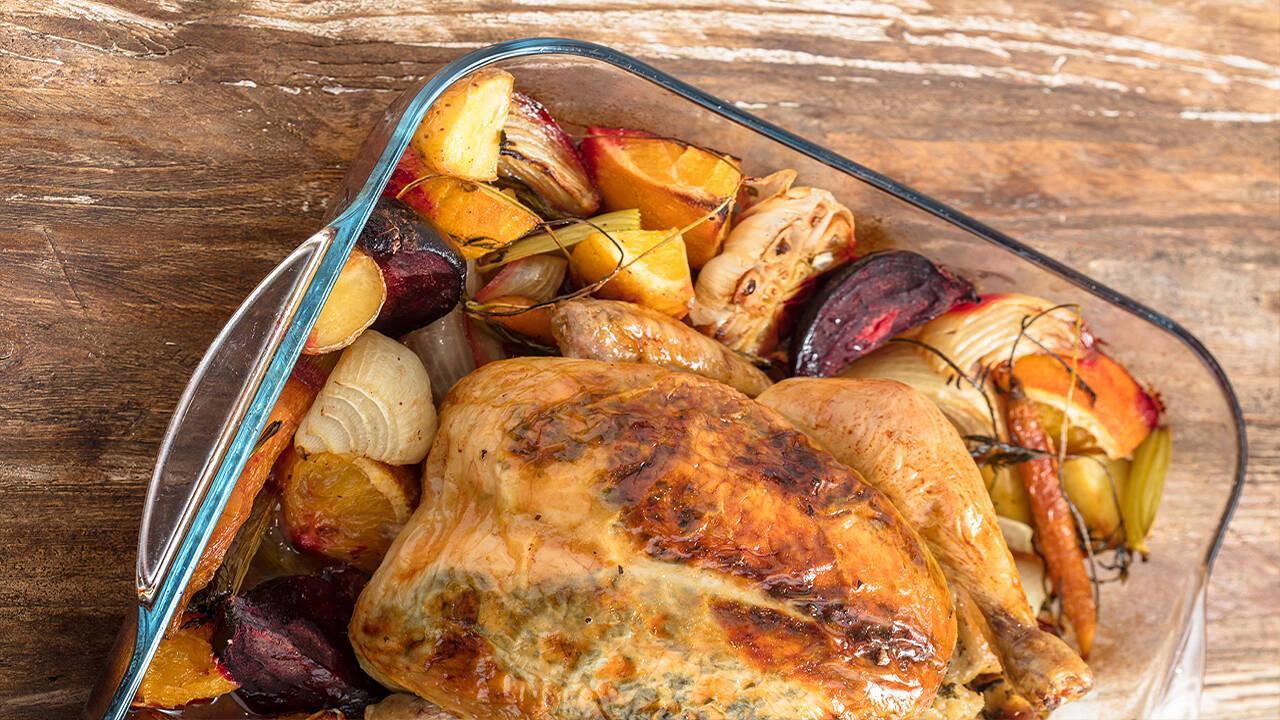 Arda'nın Mutfağı - Krutonlu Tavuk