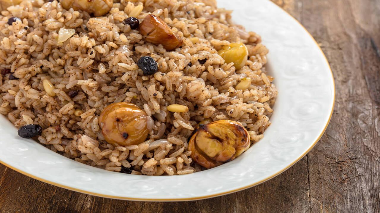 Arda'nın Mutfağı - Kestaneli Pilav