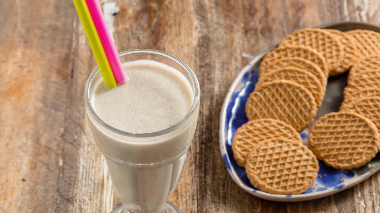 Arda'nın Mutfağı - Muzlu Bisküvili Süt (Milkshake)