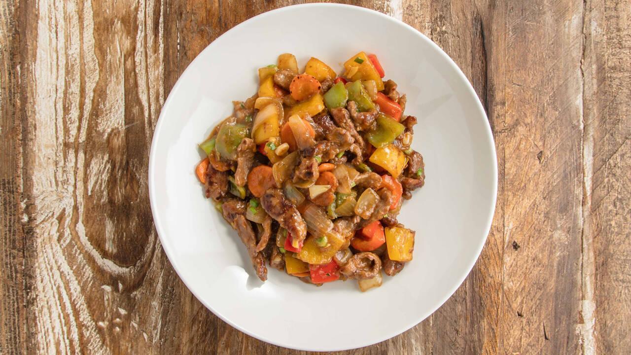 Arda'nın Mutfağı - Biberli Et Sote