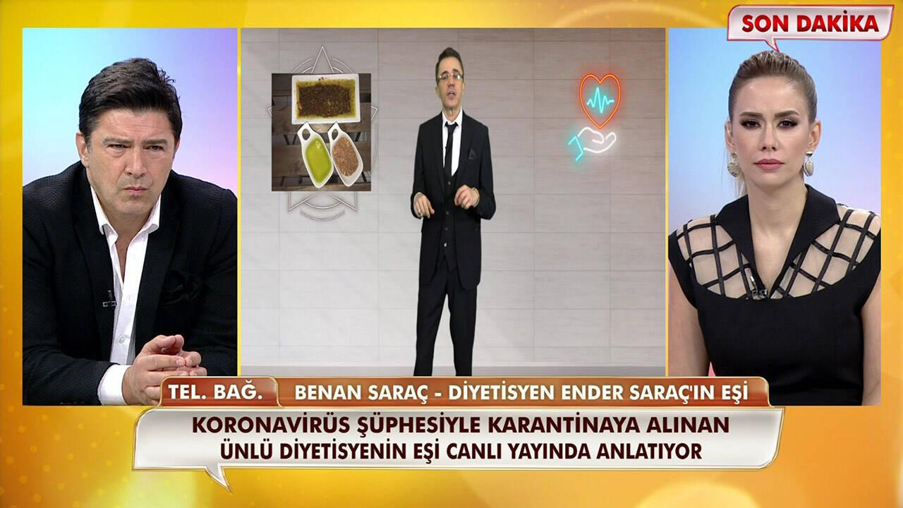 Ender Saraç'ın eşi Benan Saraç, Neler Oluyor Hayatta'ya konuştu!