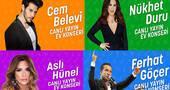 #EvdeKal #MüzikleKal Kampanyası 5 günde 600 Bin Kişiye Ulaştı!