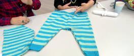 Çocuk Pantolonu Yapımı