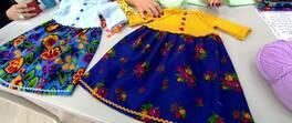 Çocuk Elbisesi Yapımı
