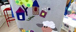 Kuzu İşlemeli Battaniye Yapımı
