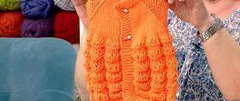 Portakal Dilimi Bebek Yeleği Yapımı