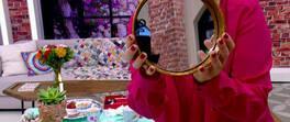 Yoğurt Kaplarından Dekoratif Ayna Yapımı