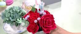 Soft Polimer Kilden Çiçek Yapımı