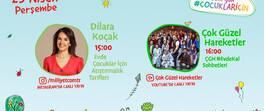 23 Nisan'da Online Çocuk Festivali çocuklarımızla şenleniyor!