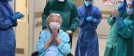 70'lik Fatma teyze de koronavirüsü yendi