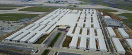 Son dakika... Yeşilköy'de yeni yapılan hastane havadan görüntülendi