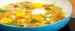 Kayısılı Yumurta Tarifi