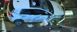 Zeytinburnu'nda zincirleme kaza! 1'i ağır 4 kişi yaralandı | Video